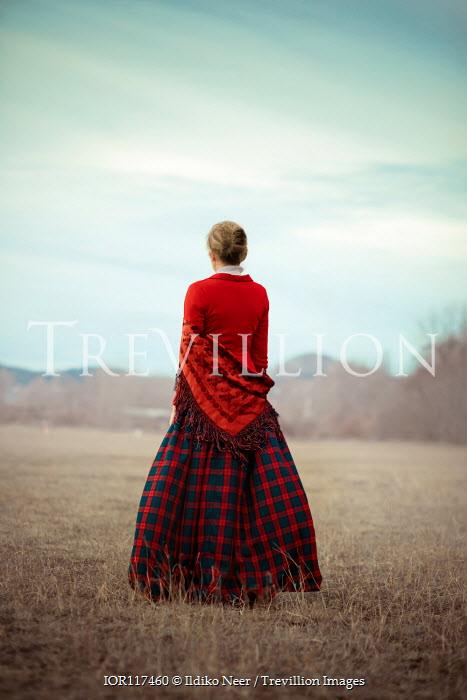Ildiko Neer Historical woman standing in countryside