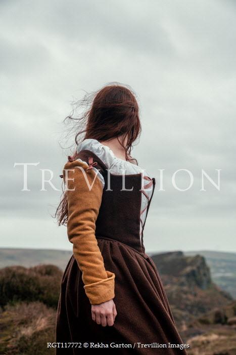 Rekha Garton Young woman in medieval dress