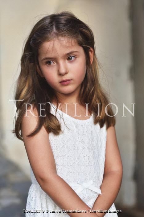 Tanya Gramatikova Portrait of girl in white dress