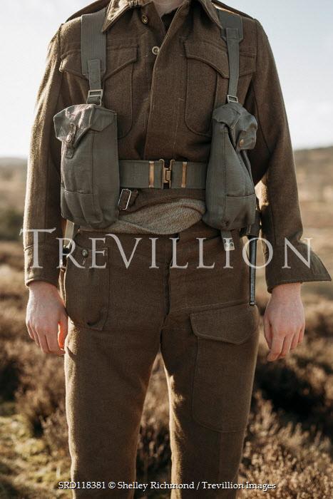Shelley Richmond Soldier in uniform