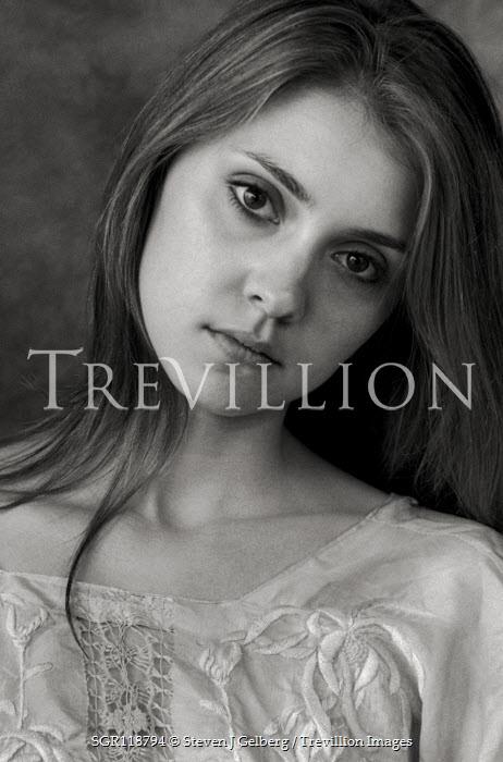Steven J Gelberg Portrait of young woman