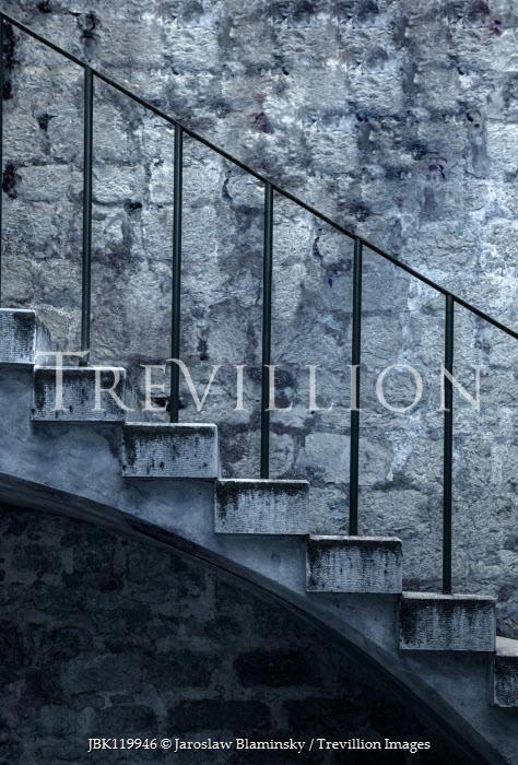 Jaroslaw Blaminsky exterior of stone building with steps Stairs/Steps