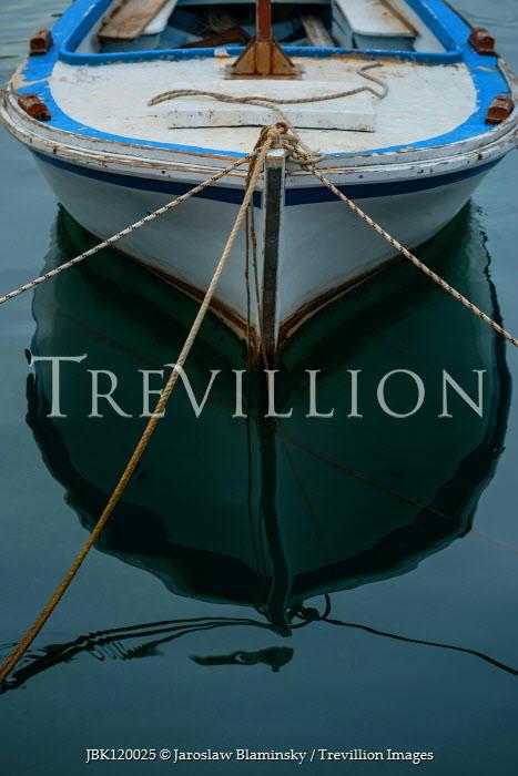 Jaroslaw Blaminsky Boat and reflection in water