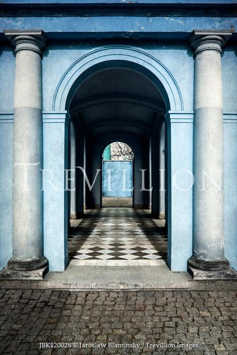 Jaroslaw Blaminsky Archway and columns of portico