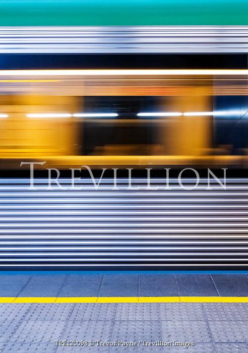 Trevor Payne Long exposure of train