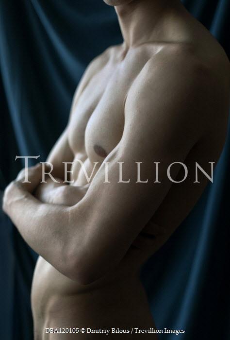 Dmitriy Bilous Torso of nude muscular man