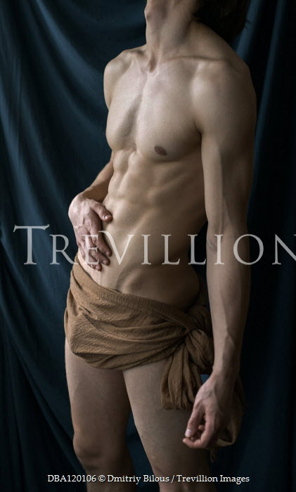 Dmitriy Bilous Nude muscular man