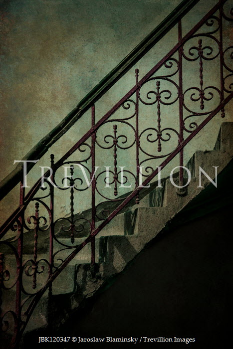 Jaroslaw Blaminsky DECORATIVE STONE AND METAL STAIRCASE Stairs/Steps