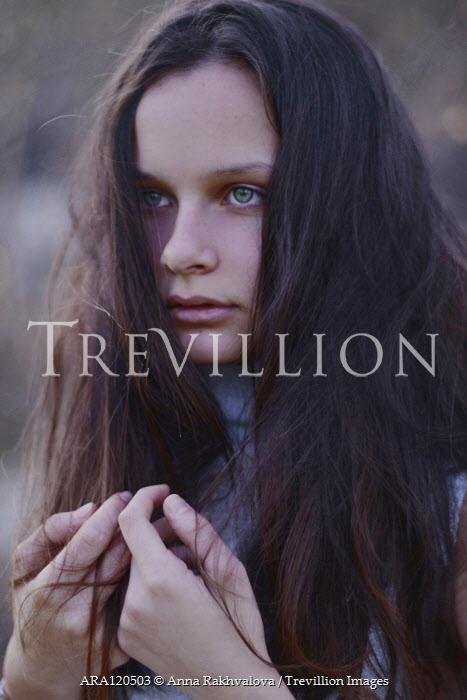 Anna Rakhvalova Portrait of teenage girl