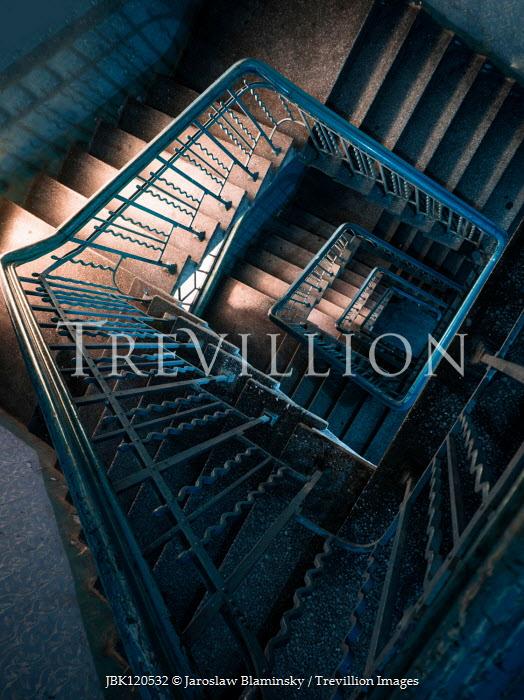 Jaroslaw Blaminsky Staircase from above