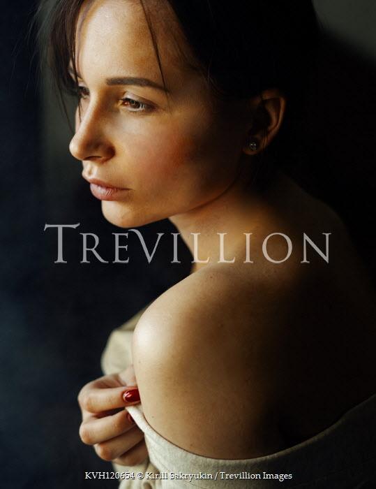 Kirill Sakryukin Young woman in shadow