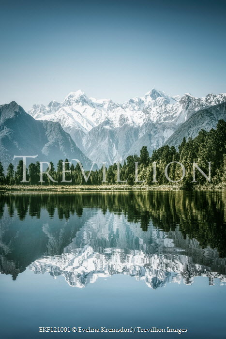 Evelina Kremsdorf Mount Cook and Lake Matheson in New Zealand