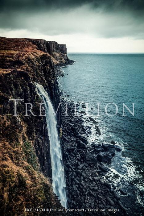 Evelina Kremsdorf Kilt Rock and Mealt Waterfall, Isle of Skye, Scotland