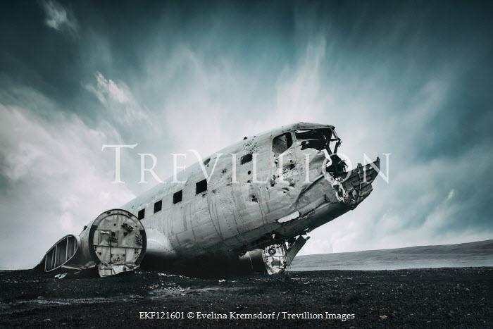 Evelina Kremsdorf Plane wreck at Solheimasandur, Iceland