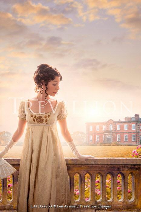 Lee Avison beautiful brunette regency woman