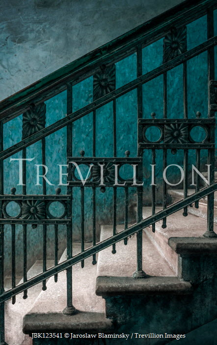 Jaroslaw Blaminsky DECORATIVE METAL STAIRCASE IN SHADOW Stairs/Steps