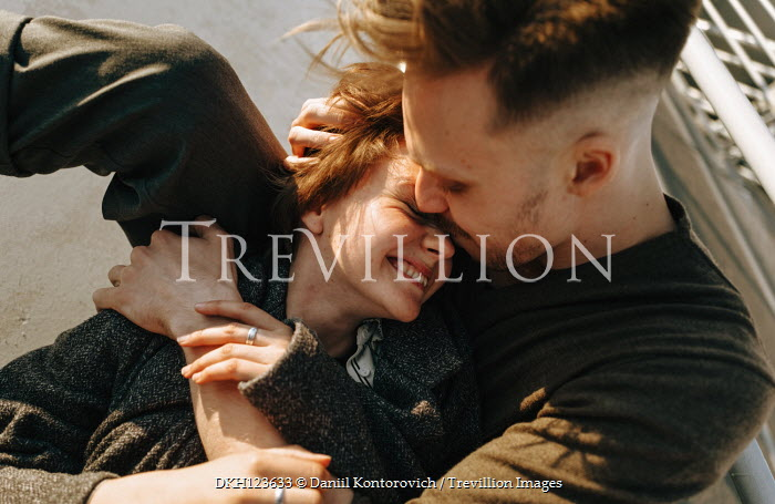 Daniil Kontorovich HAPPY COUPLE CUDDLING OUTSIDE Couples