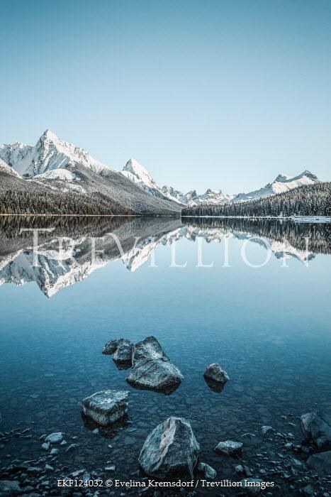 Evelina Kremsdorf Maligne Lake in Jasper National Park, Alberta, Canada
