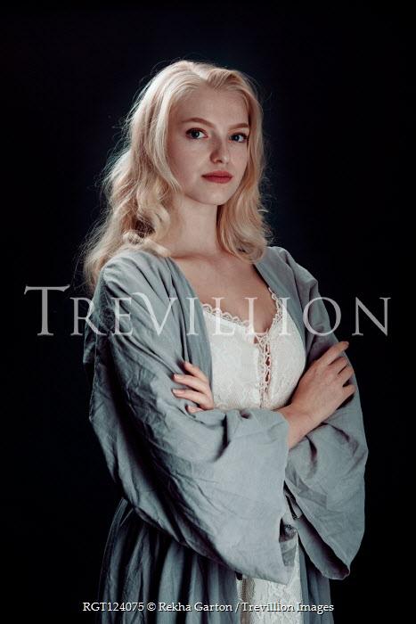 Rekha Garton Young woman in Victorian dress