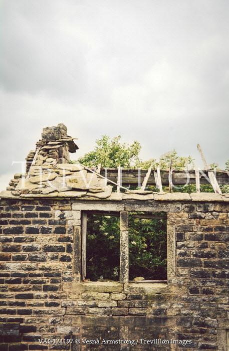 Vesna Armstrong Abandoned stone house