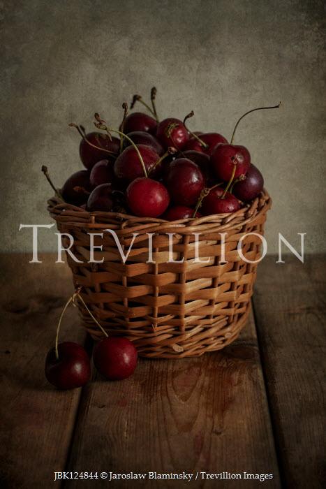 Jaroslaw Blaminsky Cherries in basket