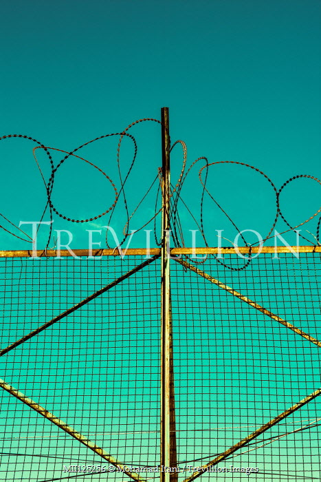 Mohamad Itani METAL GATES WITH BARBED WIRE Gates