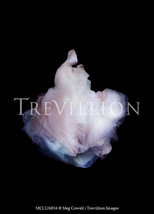 Meg Cowell FLOWING PINK GOWN WITH PETTICOATS Miscellaneous Objects