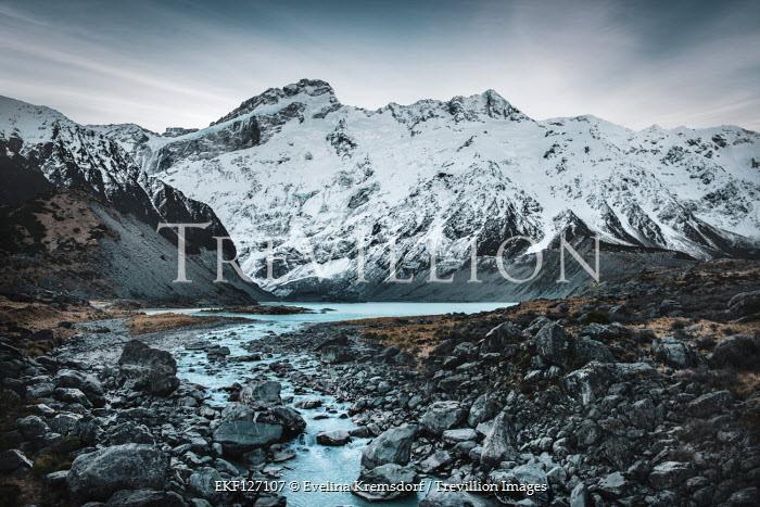 Evelina Kremsdorf Mount Cook and Hooker Valley in New Zealand