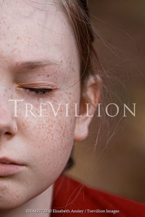 Elisabeth Ansley Close up of freckled girl crying