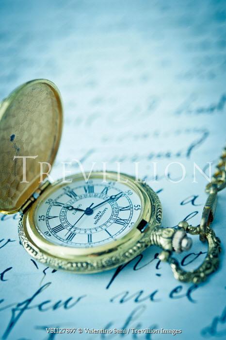 Valentino Sani Pocket watch on handwritten letter