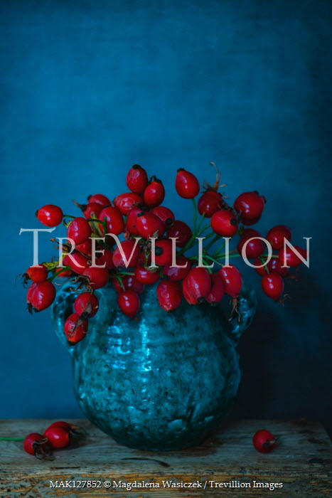 Magdalena Wasiczek Red berries in vase