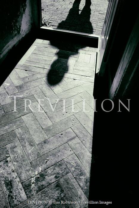 Tim Robinson MALE SHADOW IN OPEN DOORWAY OF HOUSE Men