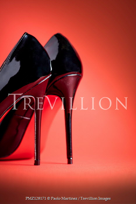 Paolo Martinez BLACK HIGH HEEL SHOES Miscellaneous Objects
