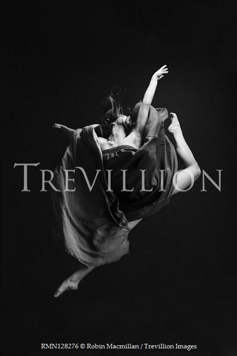 Robin Macmillan Young woman dancing