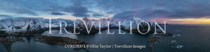Ollie Taylor Mountains and bridges in Hamnoy, Lofoten Islands, Norway