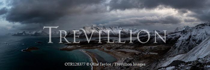 Ollie Taylor Snowy mountains and coastline