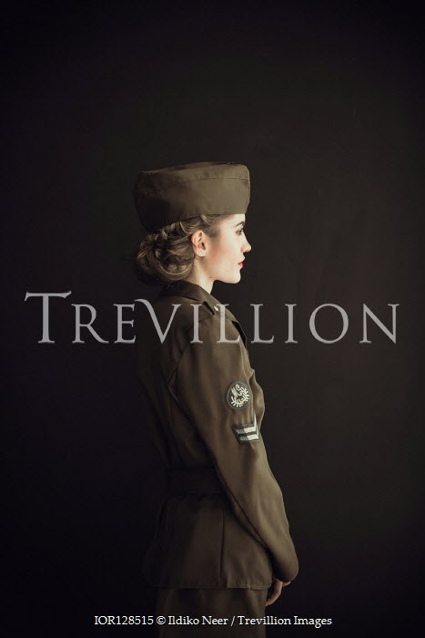 Ildiko Neer Wartime woman in uniform