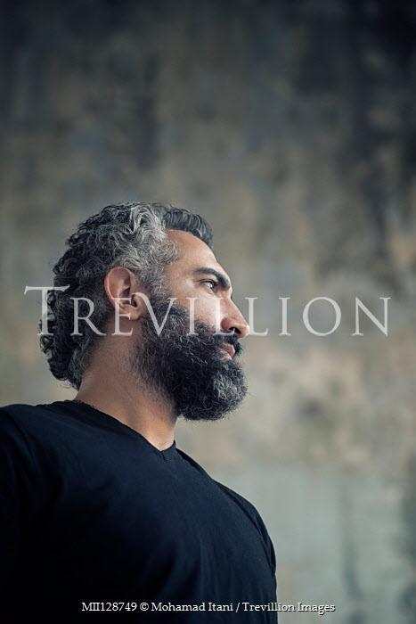 Mohamad Itani SERIOUS MIDDLE EASTERN MAN WITH BEARD Men