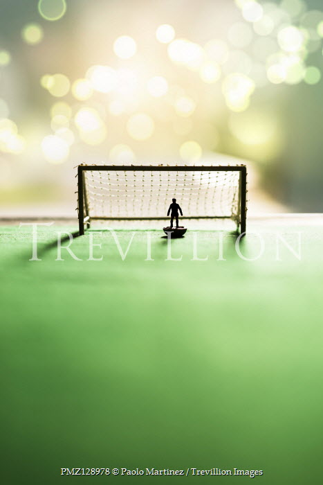 Paolo Martinez TOY GOALIE AND GOAL Miscellaneous Objects