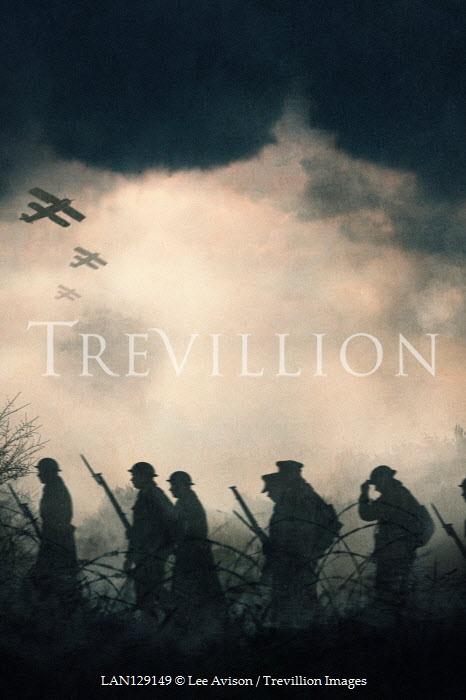Lee Avison Soldiers on battlefield