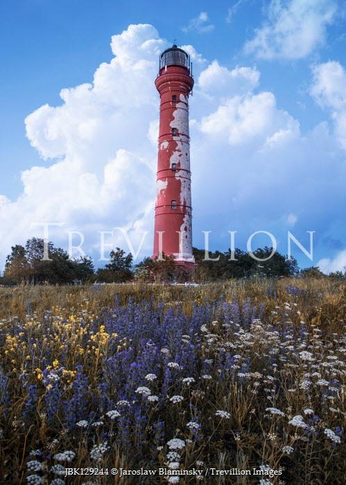 Jaroslaw Blaminsky Lighthouse and meadow