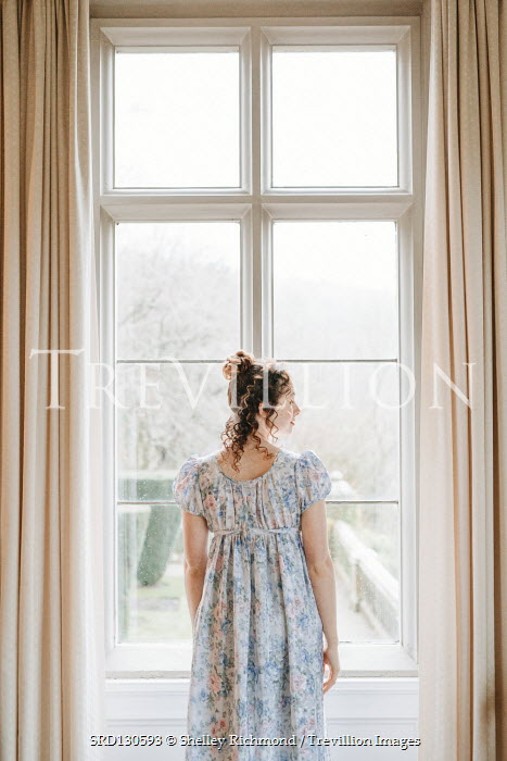 Shelley Richmond Victorian young woman by window