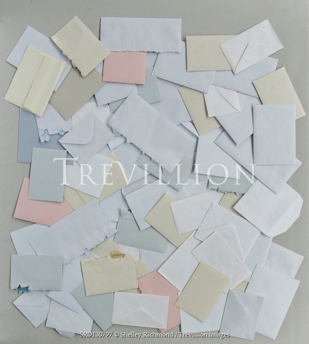 Shelley Richmond COLLECTION OF ENVELOPES FROM ABOVE Miscellaneous Objects