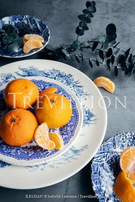 Isabelle Lafrance Mandarins on plate
