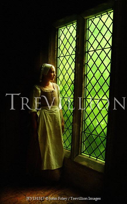 John Foley Historic maid by window