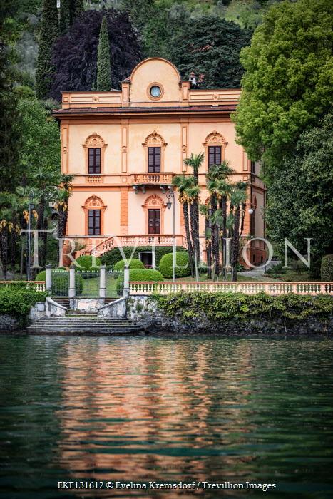 Evelina Kremsdorf Italian villa at Lake Como, Italy