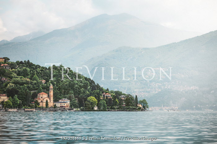 Evelina Kremsdorf Lake Como in Lombardy, Italy