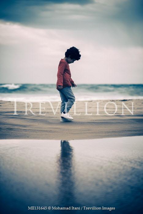 Mohamad Itani Boy on beach