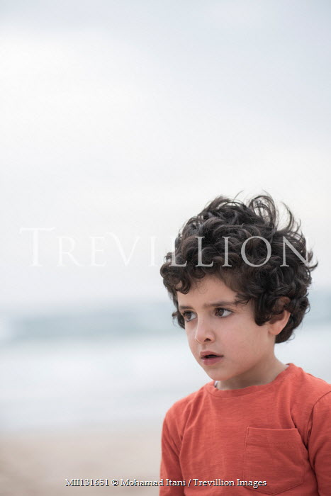 Mohamad Itani Boy on beach