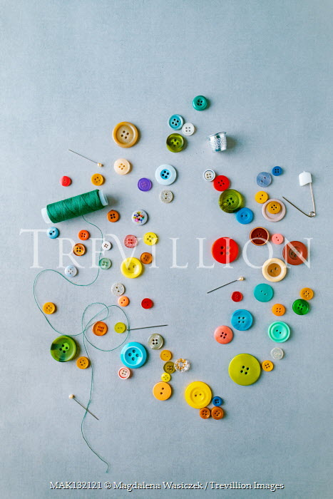 Magdalena Wasiczek BUTTONS PINS THIMBLE AND THREAD Miscellaneous Objects